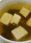漢方医お勧め薬膳!女貞子海帯豆腐湯