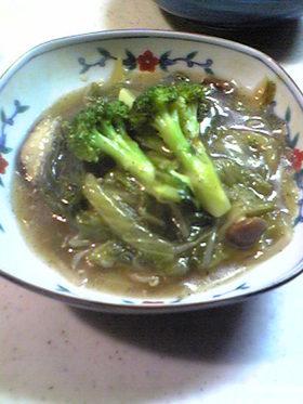 白菜と豚ばら肉の中華風塩煮