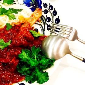 お肉ほろほろ♪♪ラム肉のトマト煮込み