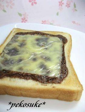 大人になれないカフェモカチーズ☆トースト