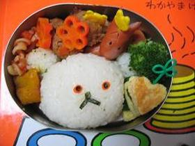 しろくまちゃんのお弁当