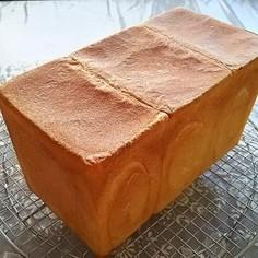 少ないイーストで国産小麦粉の角食