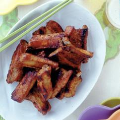 豚スペアリブのケチャップ焼き