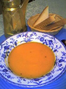 トルコ風 ♥ニンジンスープ