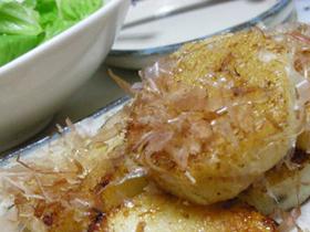 長芋のバターしょう油焼き