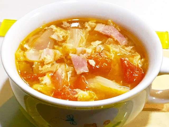 キャベツ スープ