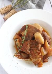 豚肉のオイスターマーマレード煮