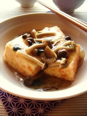 風味豊か~☆揚げ出し豆腐