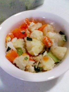 松茸の味ポテトサラダ