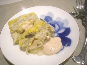 白い野菜のテリーヌ