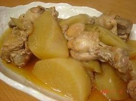 簡単♪圧力鍋で鶏と根菜の煮物