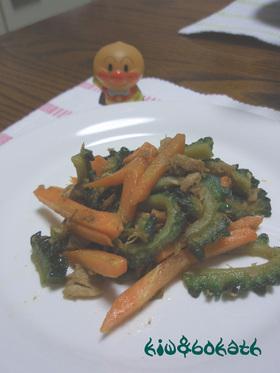 野菜とツナの炒め物☆大葉にんにく醤油風味