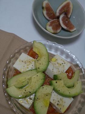 アボカド&豆腐のイタリアンサラダ