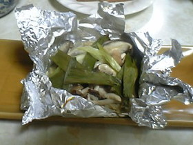 ホイル焼 IN 鰆の味噌漬け