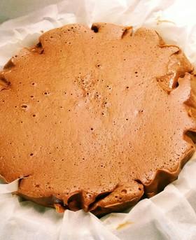 第2段★炊飯器で簡単チョコチーズケーキ