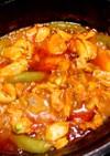 ストウブ料理!鶏モモ肉の簡単トマト煮込み