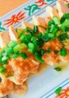 ごま味噌マヨで☆しっとりレンジ蒸し鶏