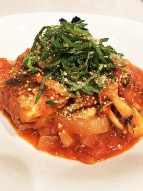 ダイエットにも◎栄養満点サバ缶のトマト煮