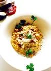 生米で簡単♪♪濃厚玄米チーズリゾット