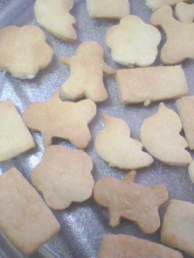 家にあるモノで簡単すぎるクッキー☆