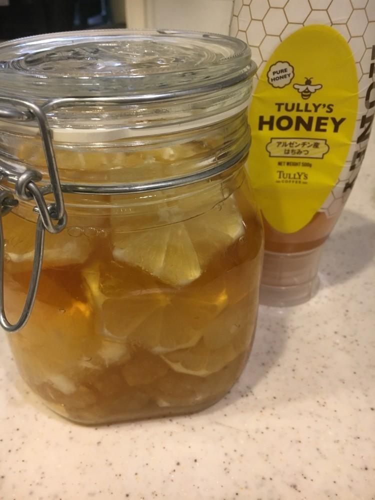 ♡蜂蜜とレモンのシロップ♡