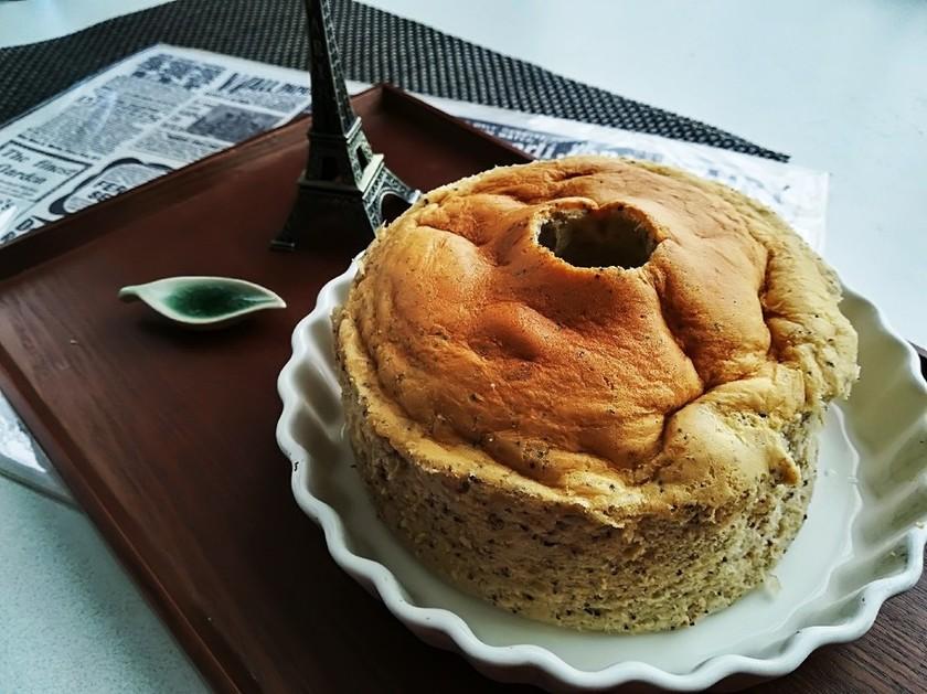 炊飯器でシフォンケーキ(*´∀`)★*☆