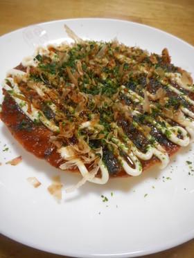 納豆焼き(お好み焼き風)