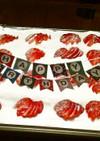 ストロベリー&クリーム・ポゥク・ケーキ!