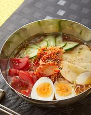 冷やしサッポロ一番☆冷麺風しょうゆの写真