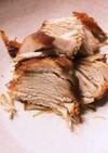 鶏胸肉のチャーシュー、圧力鍋で