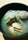 薬膳風水素料理  (お吸いもの)