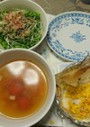 暑い時期に!冷製スープ
