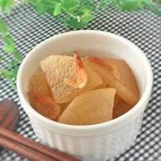 大根と桜海老のオイスターソース煮