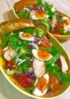 ★パンと卵とチキンと野菜★ワンディッシュ