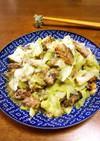 減塩☆鯖缶とキャベツのマヨ醤油炒め