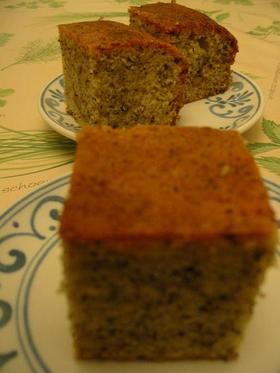 レディグレイとオレンジピールのケーキ