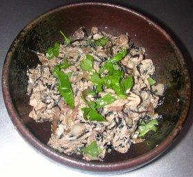 ひじき&卵入り炒り豆腐風