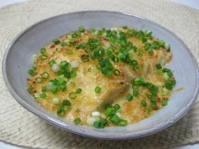 豆腐と明太子のグラタン