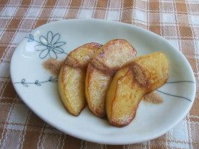 簡単朝食・林檎のソテー