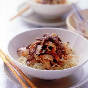牛肉&キムチの冷やし中華