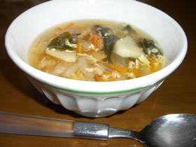 体にやさしいスープ
