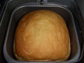 ふわふわホットケーキミックス食パン2♪