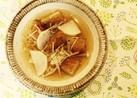 簡単♪薩摩揚げと大根の生姜甘ぽん酢スープ