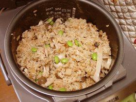♪松茸の香り♪秋の炊き込みご飯
