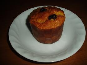 柿のカップケーキ