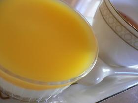柚子茶を使ったレアチーズケーキ