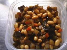 圧力鍋で家庭の味;五目豆