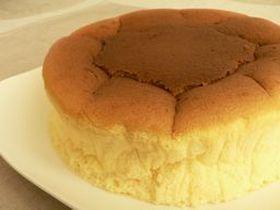 しゅわしゅわのスフレチーズケーキ