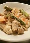 鶏モモ肉マヨ炒め