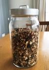 寺田本家の玄米酒粕酵母でグラノーラ試作
